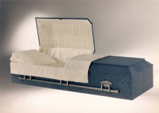 Cloth Covered Cremation Casket