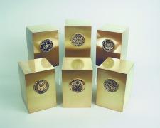 Bronze Military Urns